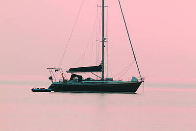 Photograph - Pink Mediterranean by Richard Patmore