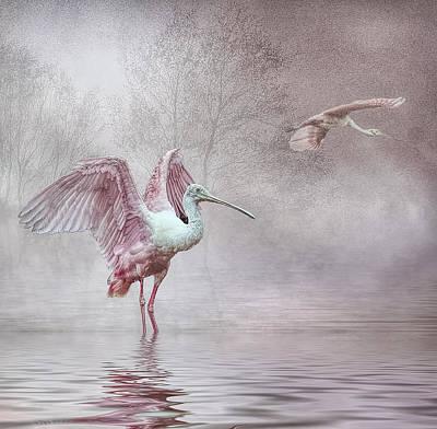 Pink Mist Art Print