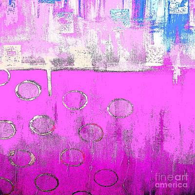 Painting - Pink Moods by Saundra Myles