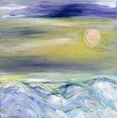 Painting - Pink Moon by Amy Drago