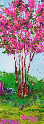 Pink Myrtle Art Print