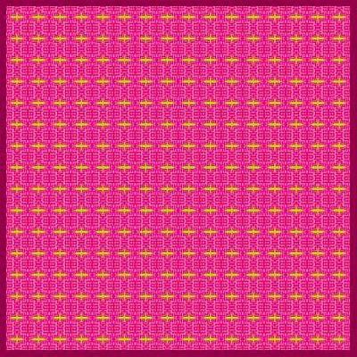 Mohammad Safavi Naini Painting - Pink Original Patterns by Mohammad Safavi naini
