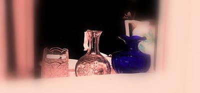 Glass Art Photograph - Pink Outlook by Susanne Van Hulst