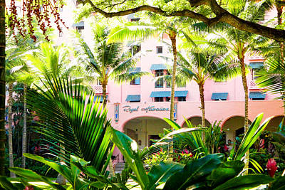 Photograph - Pink Palace Study 4 by Robert Meyers-Lussier