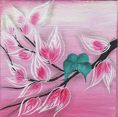 Painting - Pink Paradise  by Abril Andrade Griffith