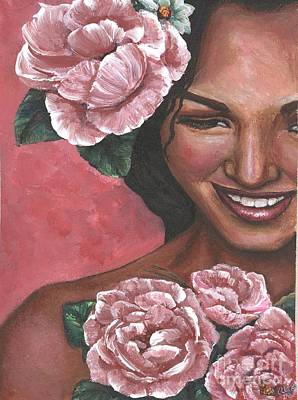 Painting - Pink Passion by Alga Washington