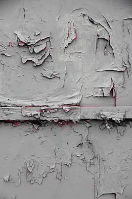 Pink Peeking Through Art Print
