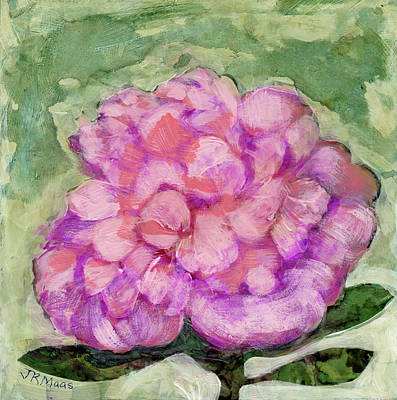 Painting - Pink Peony by Julie Maas