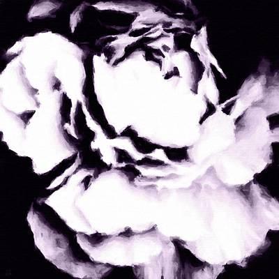 Flower Abstract Digital Art - Pink Peony by Katrina Britt