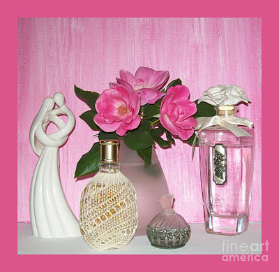 Photograph - Pink Perfume by Marsha Heiken