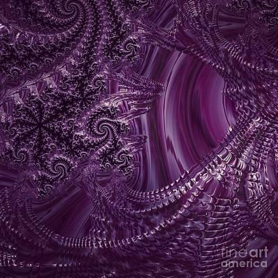 Digital Art - Purple Persuasion  by Vicki Lynn Sodora