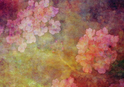 Photograph - Pink Petals And Gold 3131 Idp_2 by Steven Ward