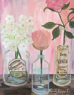 Painting - Pink Petals by Mindy Carpenter