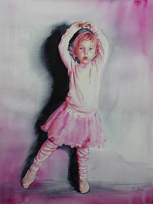 Painting - Pink Pirouette by Emily Olson