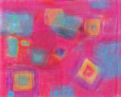 Digital Art - Pink Play by Susan Stone