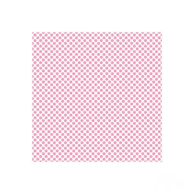 Digital Art - Pink Polka Dots by Leah McPhail