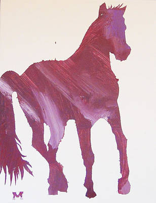 Painting - Pink Pony by Candace Shrope