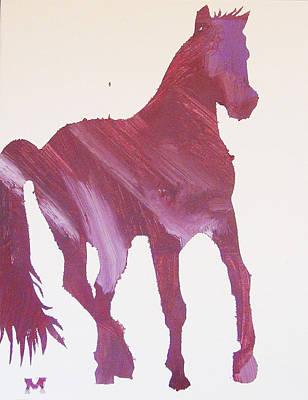 Pink Pony Art Print