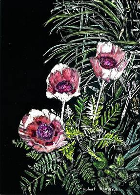 Painting - Pink Poppies by Robert Goudreau