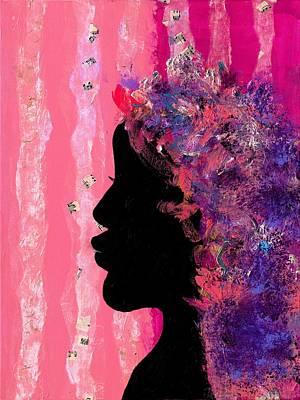 Pink Profile Art Print