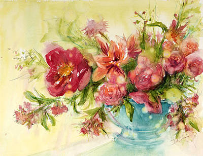 Painting - Pink Profusion by Judith Levins