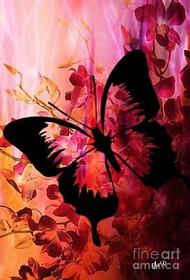 Digital Art - Pink Promises by Maria Urso