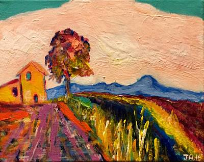 Go For Gold - Pink Provence by Jennifer Whitworth