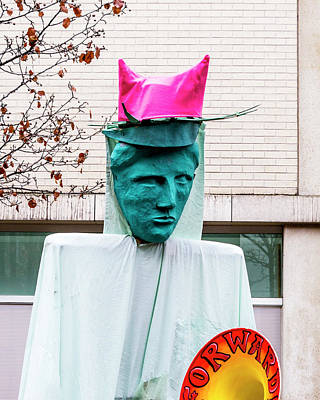 Photograph - Pink Pussy Hat - Women's March, Madison, Wisconsin by Steven Ralser