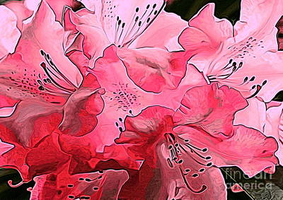 Photograph - Pink Rhodie Art by Erica Hanel