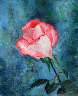 Creative Passages Painting - Pink Rose by Cassandra Donnelly