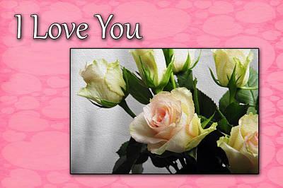 Photograph - Pink Rose For Valentine by Randi Grace Nilsberg