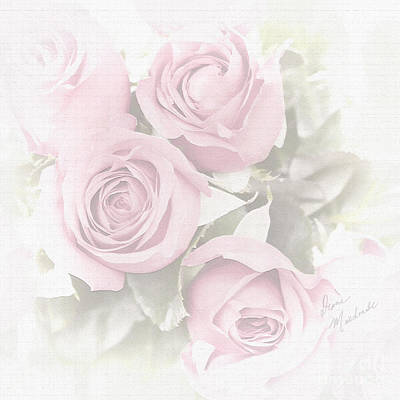 Photograph - Pink Roses by Diane Macdonald
