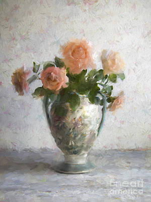Photograph - Pink Roses by Elena Nosyreva