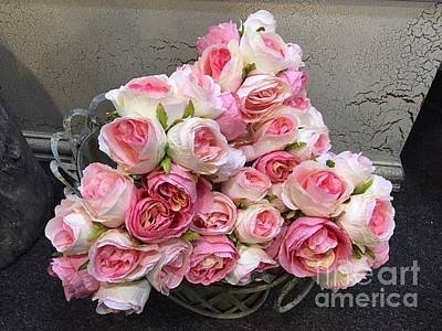 Photograph - Pink Roses by Jeannie Rhode