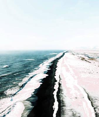 Photograph - Pink Sand by Uma Gokhale
