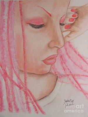 Pink Art Print by Sandra Valentini