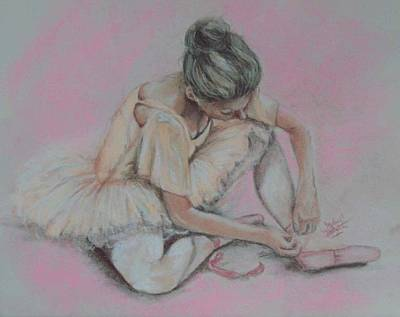 Pink Shoes Art Print by Sandra Valentini