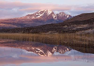 Photograph - Pink Skies At Loch Cill Chriosd by Stephen Taylor