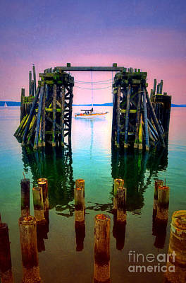 Photograph - Pink Skies In Port Townsend by Tara Turner