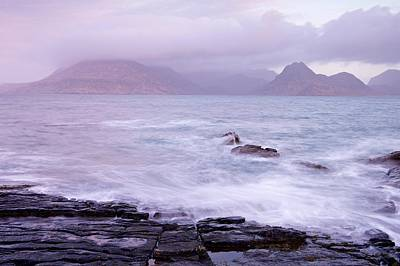 Photograph - Pink Skies Over Elgol by Stephen Taylor