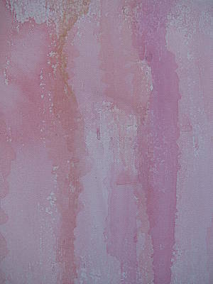 Platform Painting - Pink Skirt by Lindie Racz