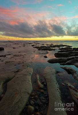 Carlsbad Photograph - Pink Sky At Night by Mike Dawson