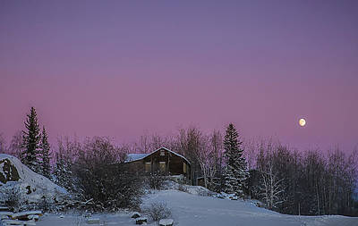 Photograph - Pink Sky At Night by Valerie Pond