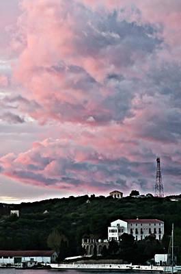Photograph - Pink Sky  by Pedro Cardona