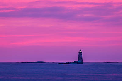 New Castle Photograph - Pink Sky by Scott Patterson