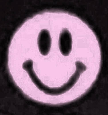 Photograph - Pink Smiley by Rob Hans