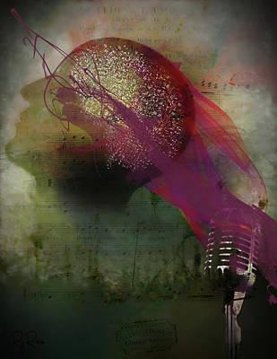 Digital Art - Pink Song by Richard Ricci