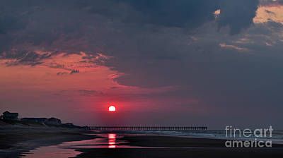 Photograph - Pink Sun Rising by DJA Images