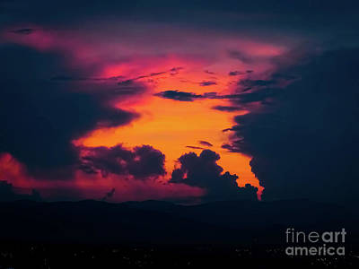 Photograph - Pink Sunrise by Camille Pascoe