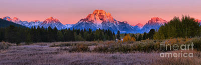 Photograph - Pink Sunrise On The Way To Oxbow by Adam Jewell